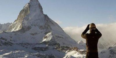 El Cervino en Los Alpes Franceses