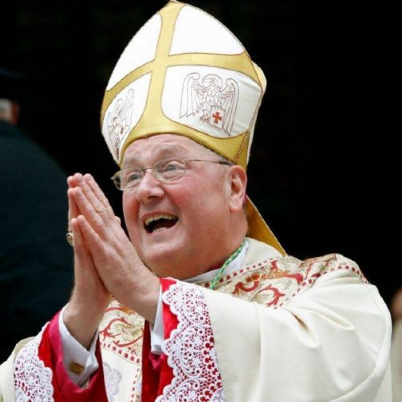 Timothy Dolan, de Estados Unidos, tiene 62 años; se convirtió en la voz del catolicismo estadunidense tras ser nombrado arzobispo de Nueva York en el 2009. Foto:AFP