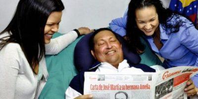 Dejan ver primeras imágenes de Hugo Chávez