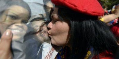Chavistas celebran regreso de su líder