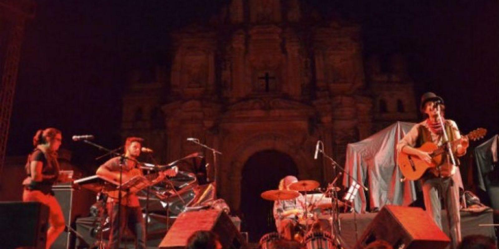 Ishto Juevez abrió el concierto. Foto:Juan José López Torres