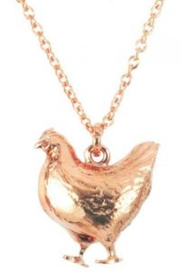 Alex Monroe Collar de gallina US$212 www.alexmonroe.com