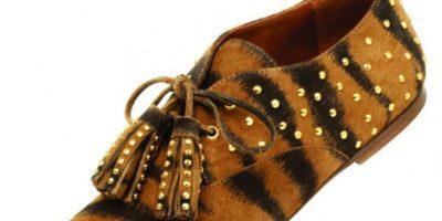 Mulberry Zapatos de roble con rayas de tigre US$700 www.mulberry.com