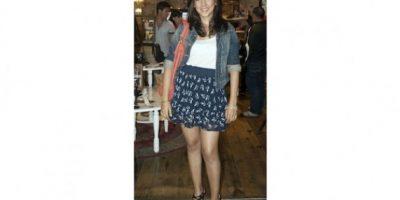 """""""Normalmente busco ropa cómoda. Aprovecho los días que hace sol para utilizar faldas y vestidos. Me gusta usar tacones y accesorios de colores neutros"""". Melissa Román, 27 años OCUPACIÓN: ACTRIZ"""