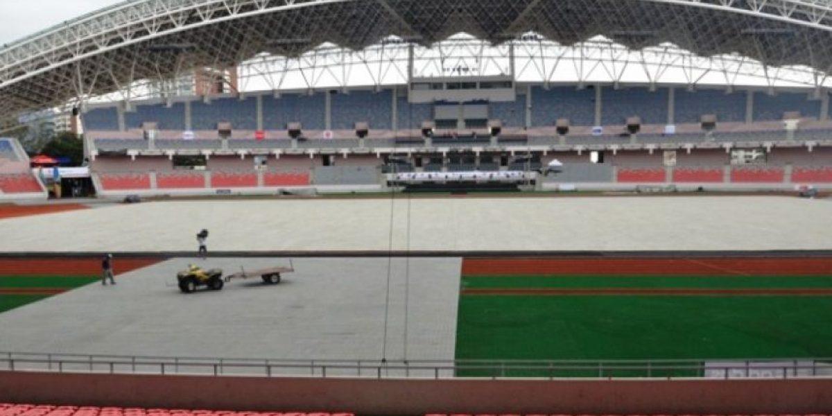 Inauguración de los Juegos Centroamericanos San José 2013