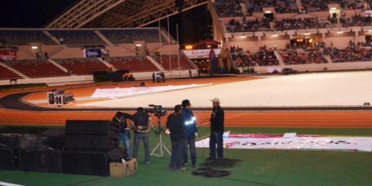 FOTOS: Escenario de la inauguración de los Juegos Centroamericanos
