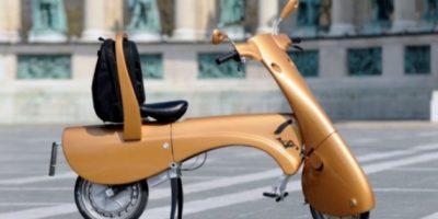 Moto plegable y ecológica