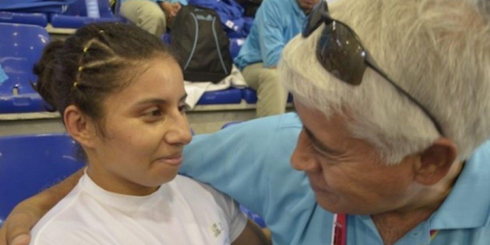 Con Sergio Camargo, presidente del COG. Foto:Mynor Arita, enviado especial a San José
