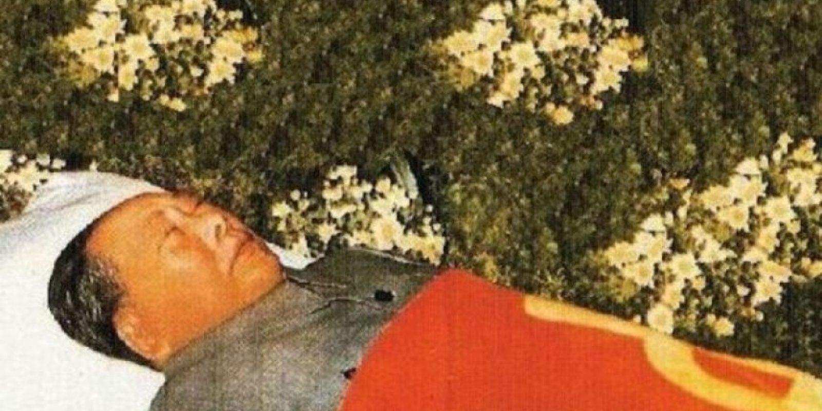 Mao Tse-Tung. Máximo dirigente del Partido Comunista chino, murió en Pekín el 9 de septiembre de 1976 a los 82 años. Foto:Publimetro México