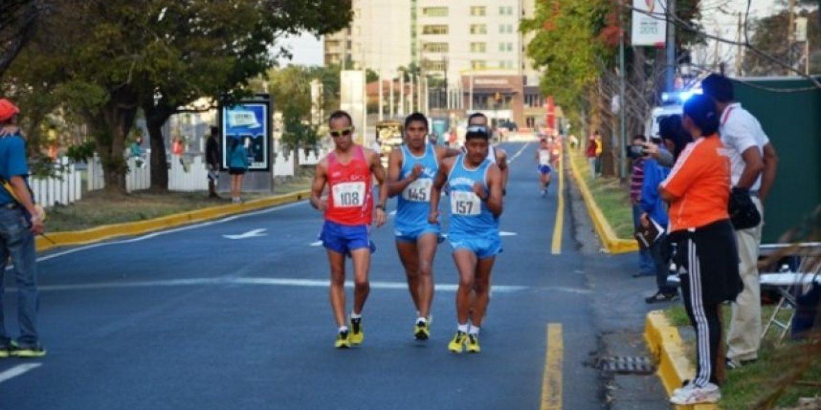 Rama masculina, prueba 20 km / Foto:Mynor Arita, enviado especial a San José 2013