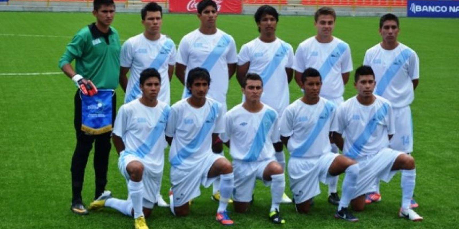 Este es el equipo que venció esta mañana a Panamá, en los Juegos Centroamericanos. Foto:Mynor Arita, enviado especial