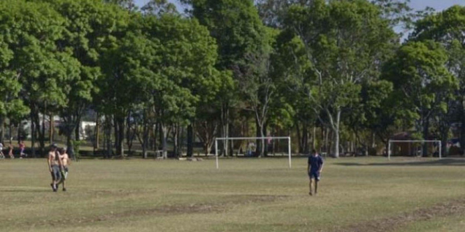 : El Parque Metropolitano de La Sabana tiene unos 10 campos de futbol, además de canchas de baloncesto, tenis y resbaladeros, entre otros. Foto:Mynor Arita, enviado especial