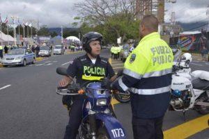 San José es una de las capitales más seguras de América Latina, esto corre por cuenta de la Policía Municipal y de la Fuerza Pública. Foto:Mynor Arita, enviado especial