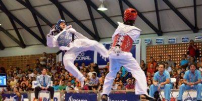 Stuardo Solórzano en la final. Foto:Mynor Arita, enviado especial