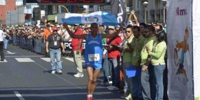 El tiempo del campeón centroamericano fue de 2 horas 26 minutos y 24 segundos. Foto:Mynor Arita, enviado especial