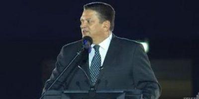 Jhonny Araya, presidente el Comité Organizador y alcalde de San José, dio por clausurada la cita deportiva