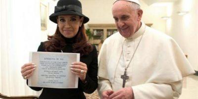 Papa Francisco recibe a la presidenta Cristina Fernández