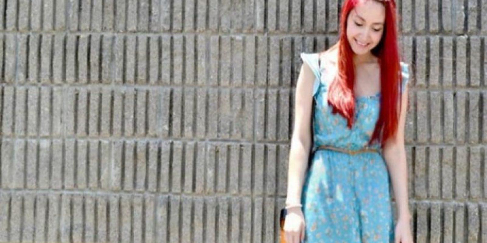 """Fleur Chelsea, 24 años. Ocupación: psicóloga """"Más que un estilo, creo que tengo una actitud de atreverme a ser diferente""""."""