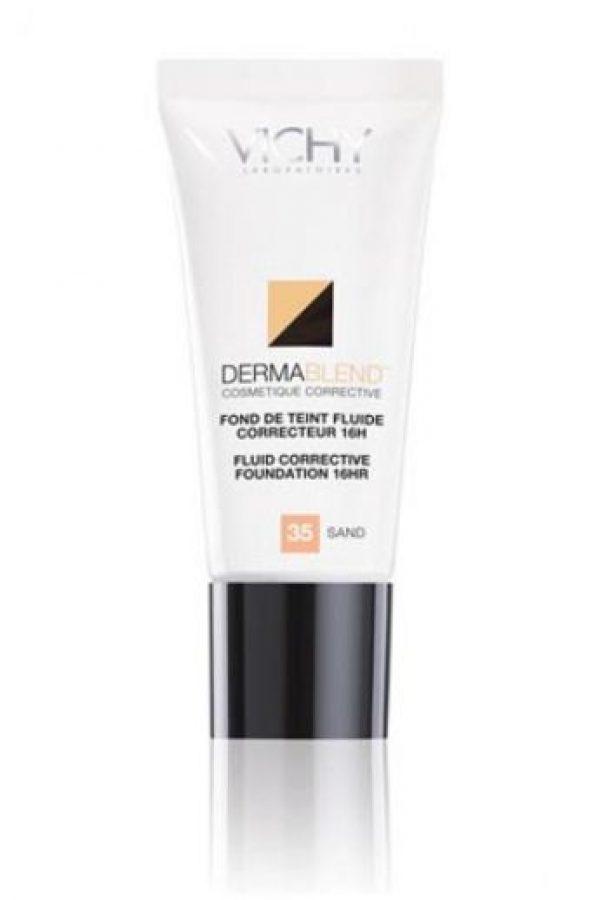 Un rostro perfecto El maquillaje profesional DermaBlend de Vichy deja tu piel libre de cualquier tipo de imperfección. Su base correctora combina una alta concentración de pigmentos que cubren con una textura ultrasuave. Lucirás un tono unificado y luminoso durante 12 horas. publinews