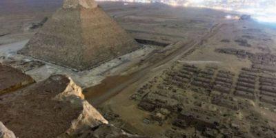 Ruso hace fotos sin permiso desde la Gran Pirámide