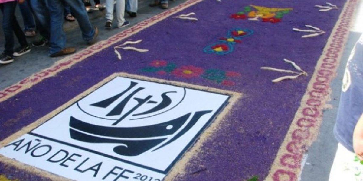 FOTOS: Guatemala elabora la alfombra más larga del mundo