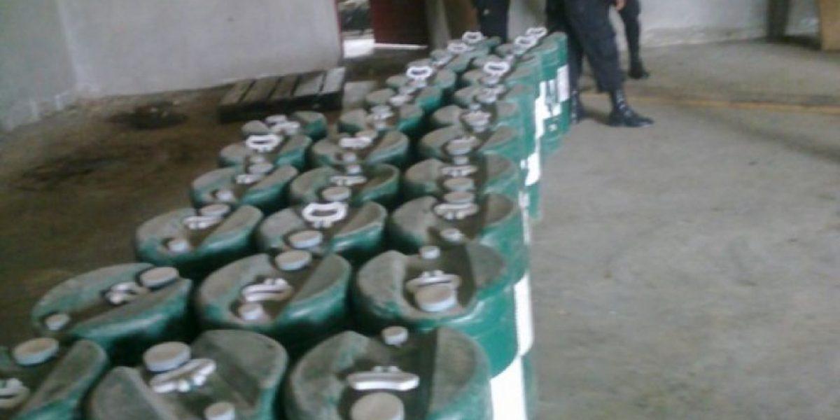 Incautan precursores químicos en Huehuetenango