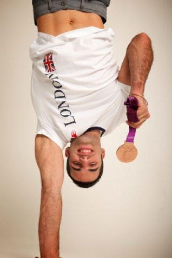 El gimnasta estadounidense Danell Leyva de 21 años, ganó la medalla de Bronce en la competencia individual en Londres 2012