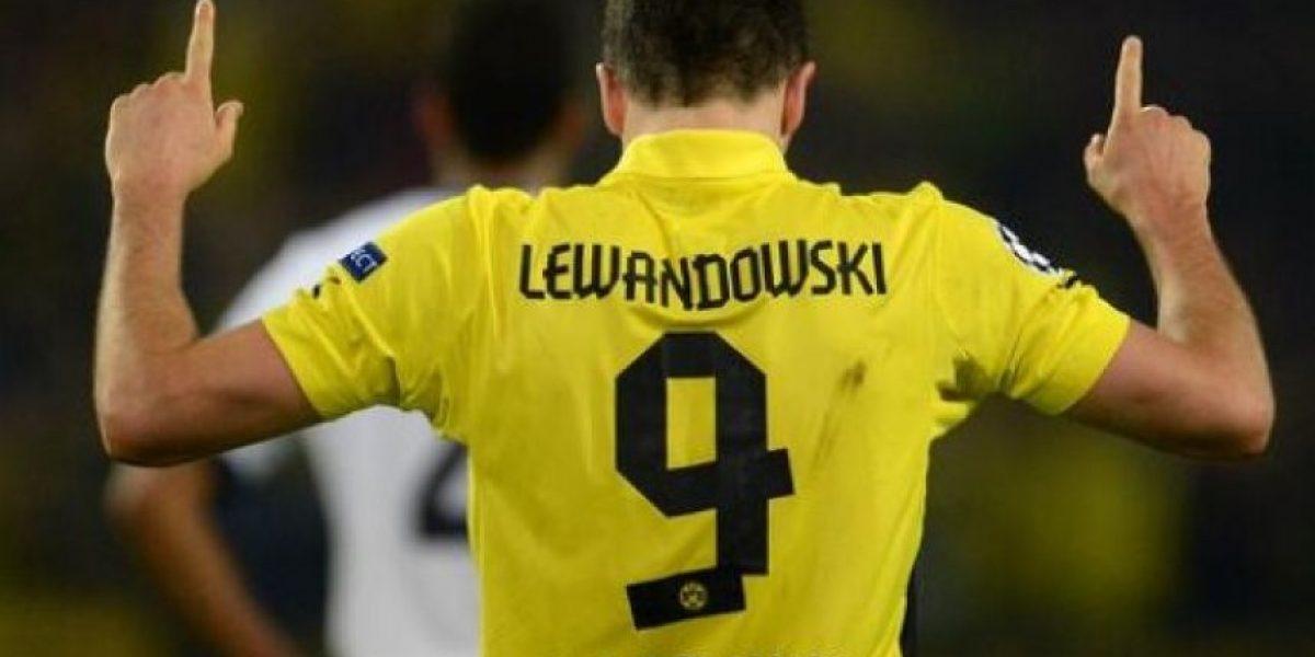 Lewandowski acaba al Real Madrid