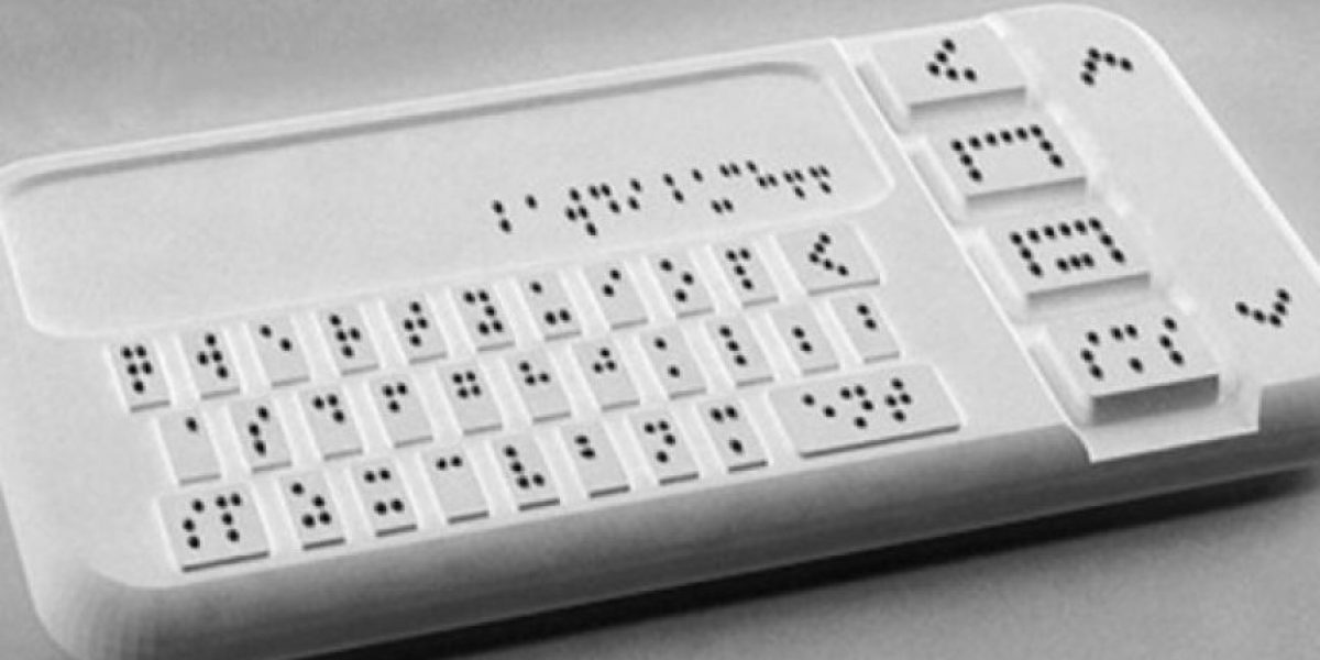 Braille Phone, el primer celular para no videntes