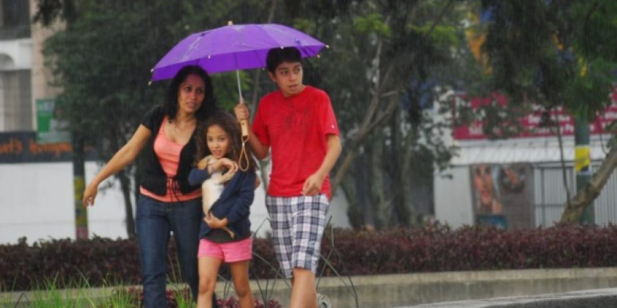¡A sacar los paraguas!