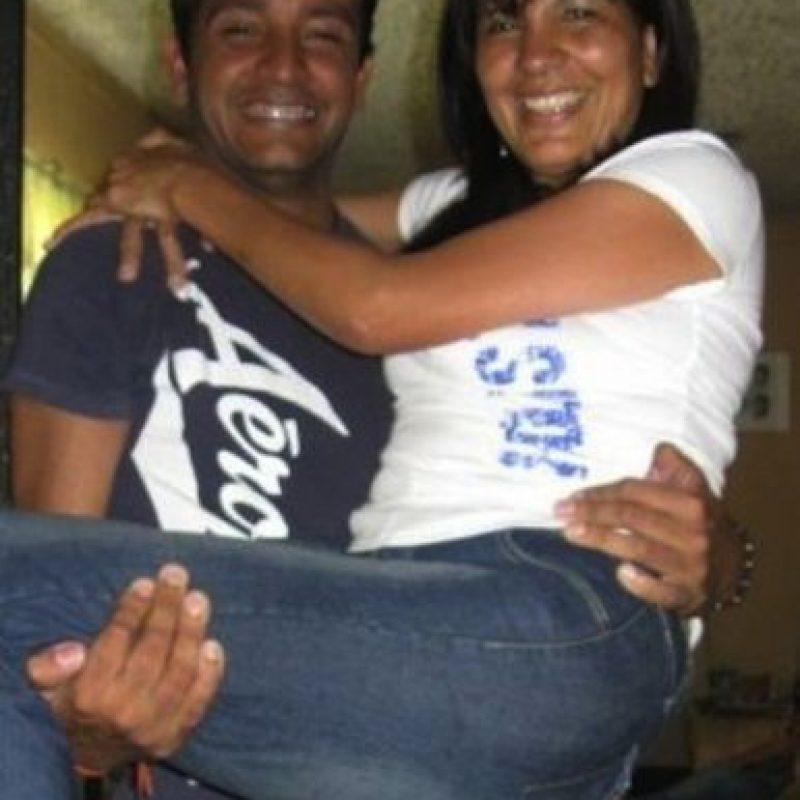 Mi madre Antonieta Paz y yo Jorge Gonzalez