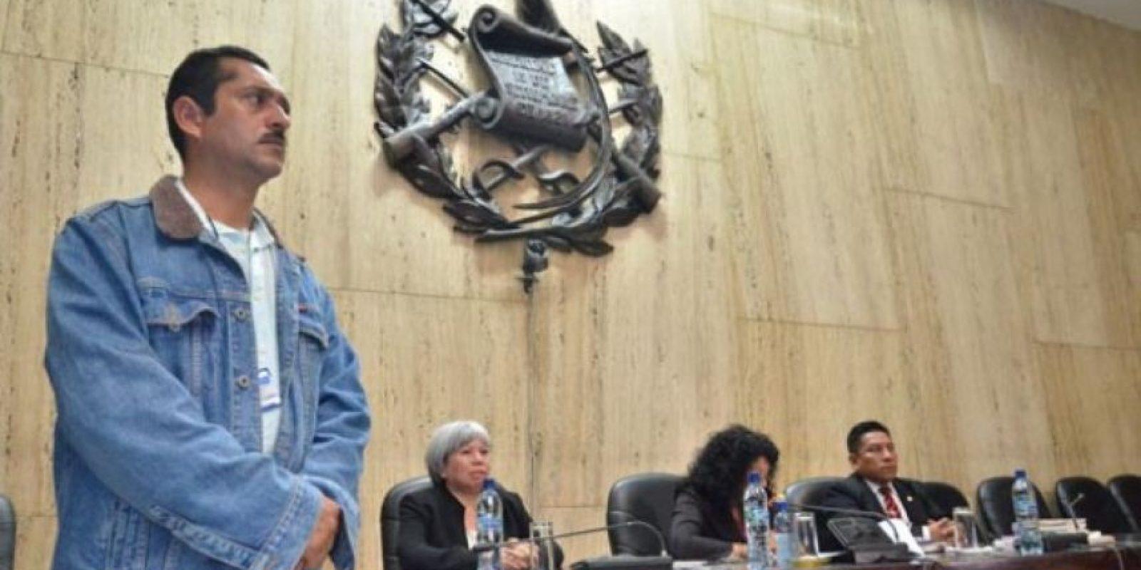 Los jueces tuvieron seguridad especial durante la lectura de la condena.