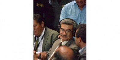 El antiguo jefe de Inteligencia, José Rodríguez, fue absuelto de cargos. Foto:Juan José López Torres