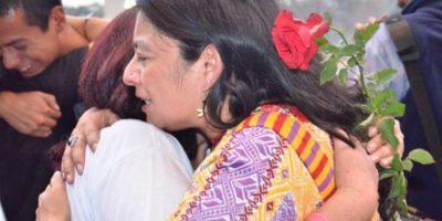 Familiares de las víctimas derramaron lágrimas tras conocer el veredicto. Foto:Juan José López Torres