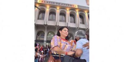 La condena se celebró con emotividad. Foto:Juan José López Torres