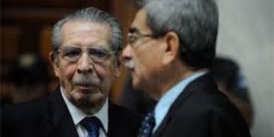 CONDENADO: Ríos Montt recibe 80 años de prisión