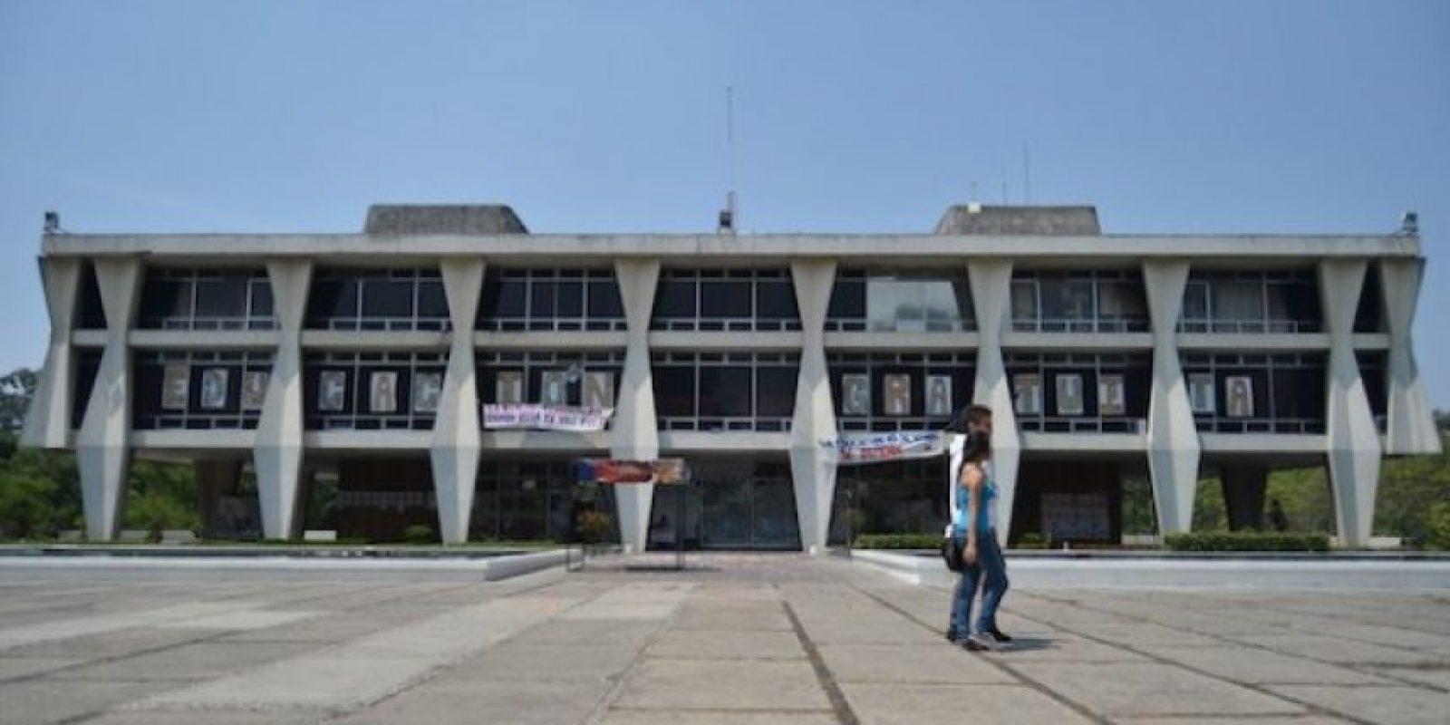 La rectoría. Foto:Juan José López Torres
