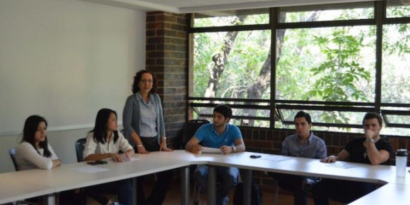 Las aulas están en armonía con la naturaleza. Foto:Juan José López Torres