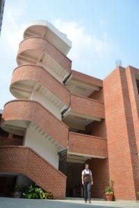 Vista interior de la universidad, relativamente nueva y en vía de expansión. Foto:Juan José López Torres