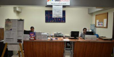 En la planta baja de Las Américas, los alumnos cuentan con servicio de fotocopias. Foto:Juan José López Torres