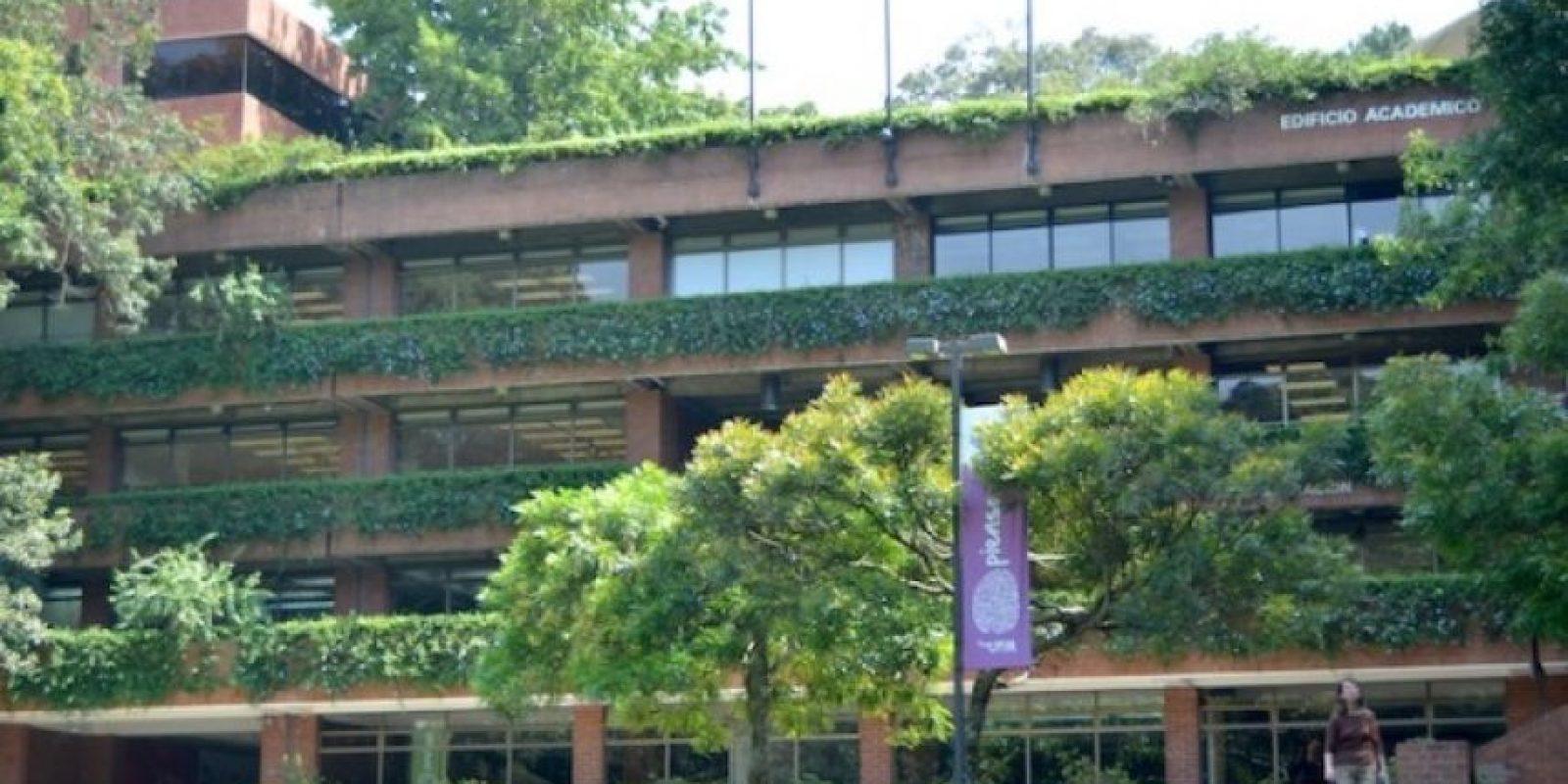 Edificio Académico. Foto:Juan José López Torres