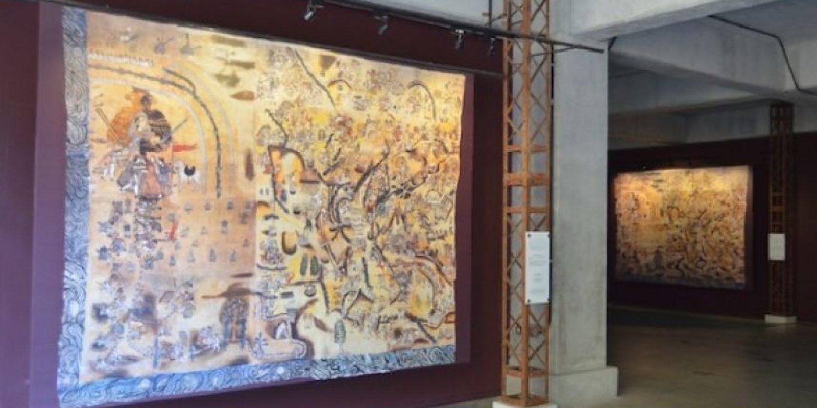 Quauhquechollan, el lienzo que cambió la historia de la conquista. Foto:Juan José López Torres