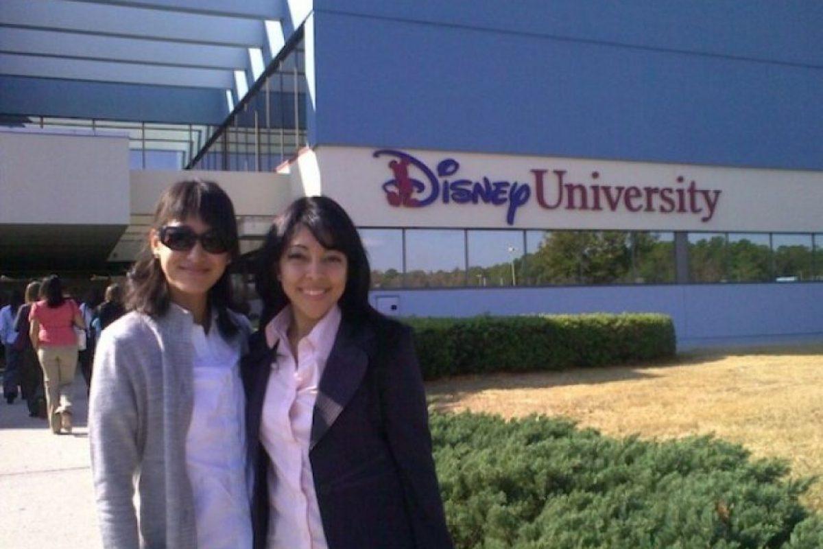 Intercambio celebrado en Universidad Disney. Foto:Cortesía URL