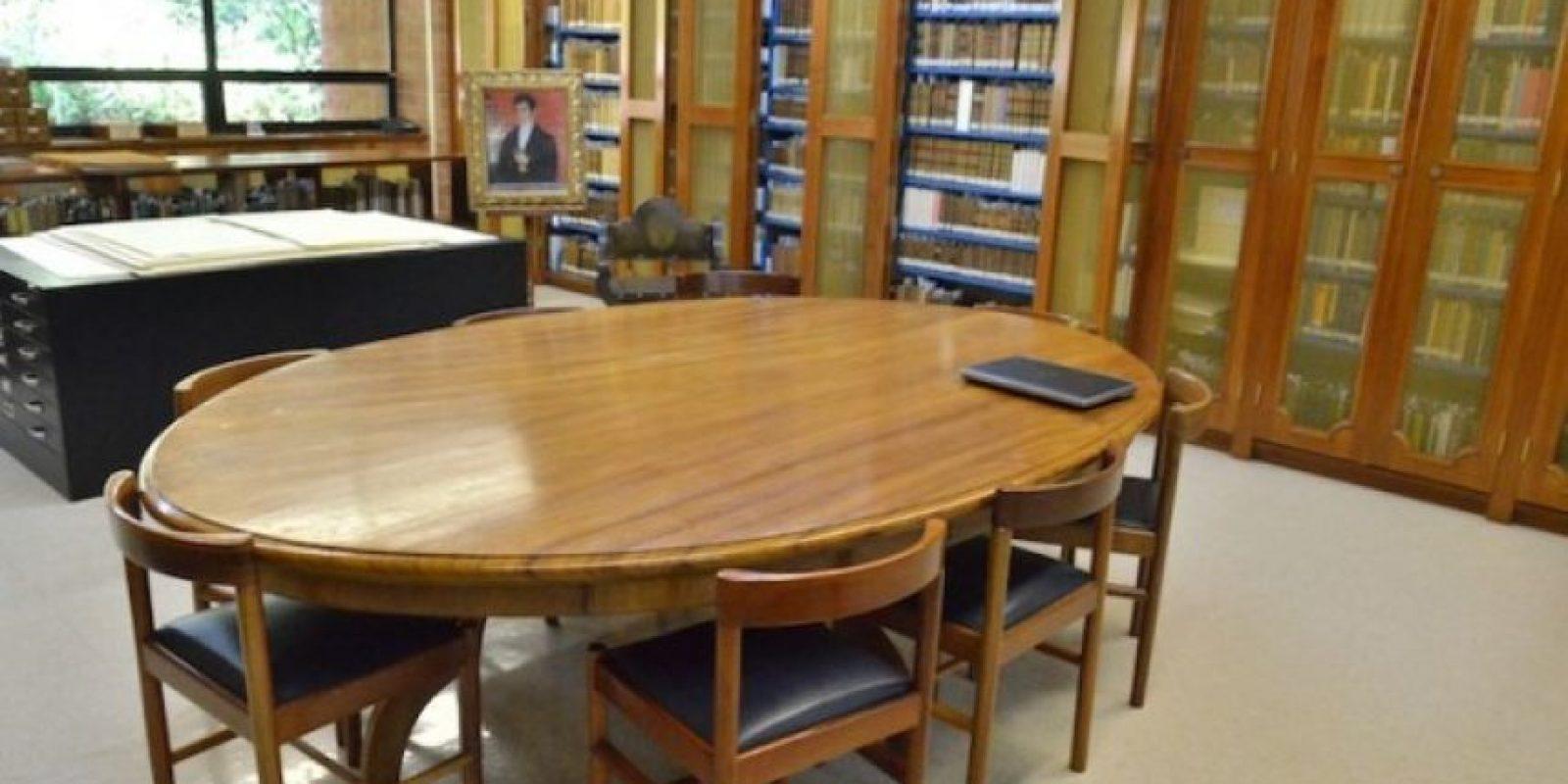 Esta es la sala de colecciones especiales. Foto:Juan José López Torres