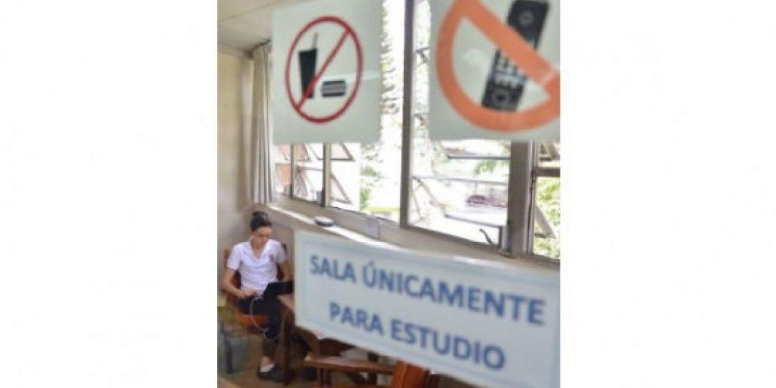 Los alumnos que requieren de un área más silenciosa cuentan con esta sala. Foto:Juan José López Torres