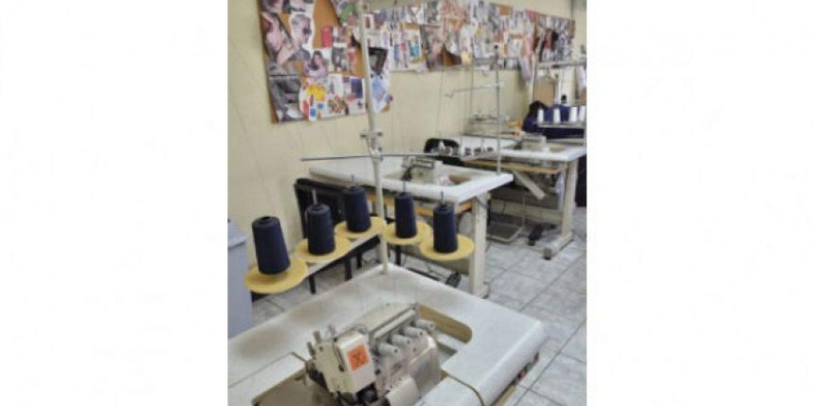En la oferta académica, está la formación en el área textil. Foto:Juan José López Torres