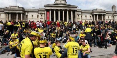 FOTOS. El ambiente para la final de la Champions en Londres