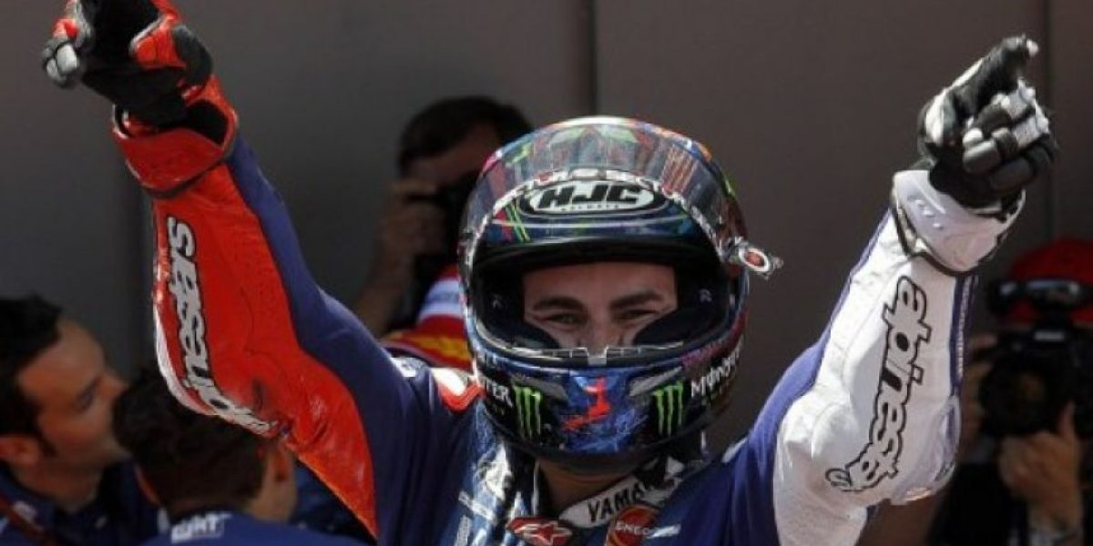 El español Jorge Lorenzo gana el GP de Cataluña de MotoGP