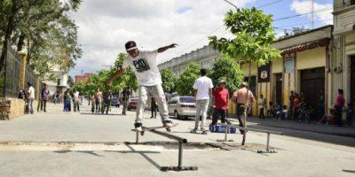 GALERÍA. Le exigen a la Muniguate que se les deje patinar en el Centro Histórico