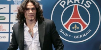 Paris Saint-Germain da la bienvenida a Cavani